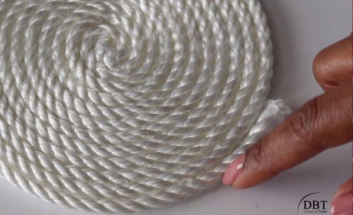 diy rope floor mat, flooring