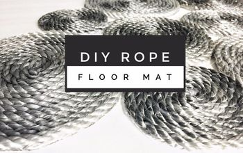 DIY Rope Floor Mat