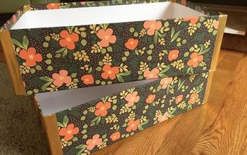 How to Make Pretty Storage Boxes