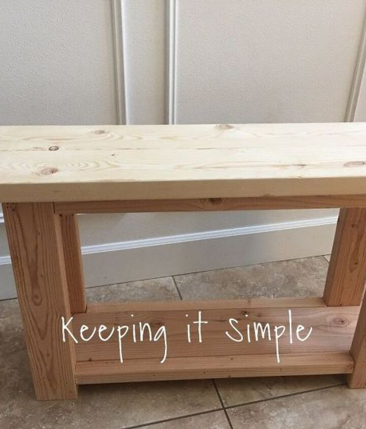 diy sofa side table, painted furniture