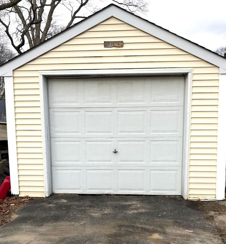 garage door makeover, doors, garage doors, garages