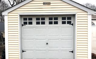 garage door makeover, doors, garage doors, garages