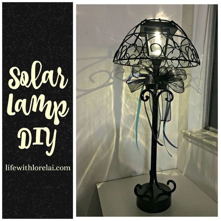 solar lamp diy light your outdoor living space, lighting