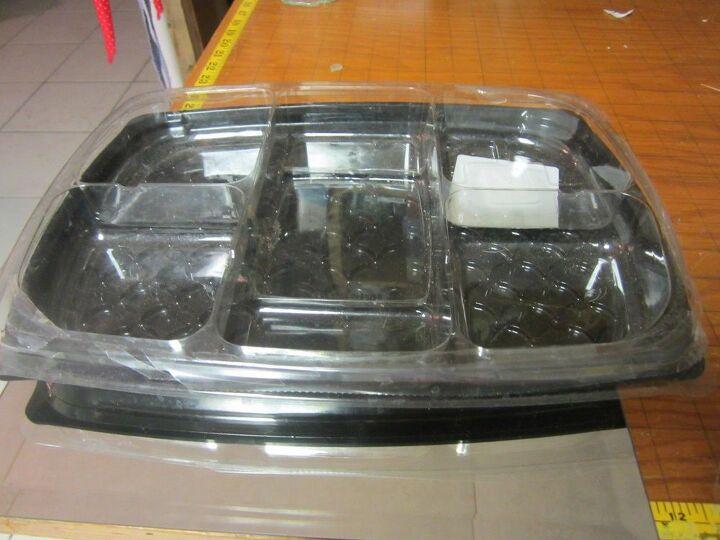 t organization tip save those deli trays, organizing