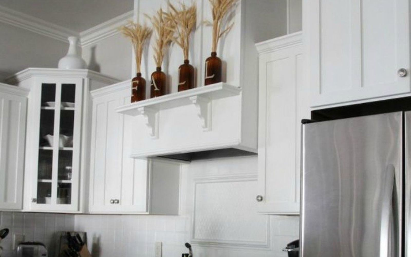 Fake A Gorgeous Built-In Kitchen With These 13 Hacks