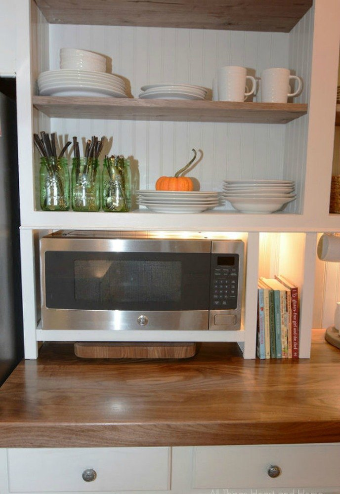 Fake A Gorgeous Built In Kitchen With These 13 Hacks