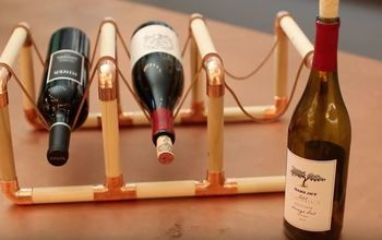 diy wine rack