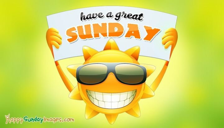 e happy sunday