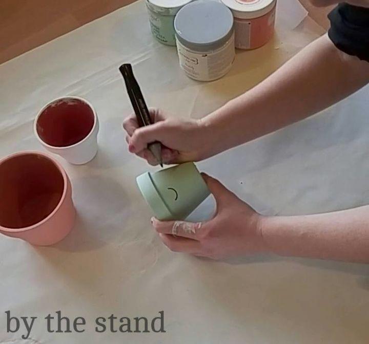 diy cute pots