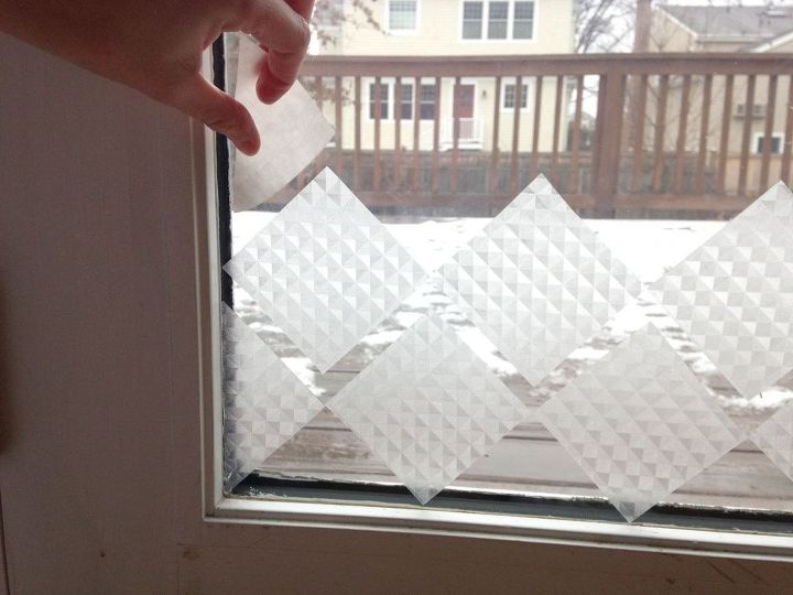 privacy glass using contact paper