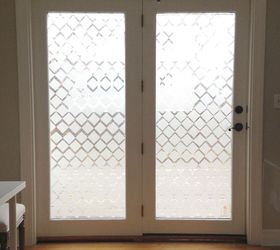 privacy glass using contact paper & Privacy Glass Using Contact Paper | Hometalk