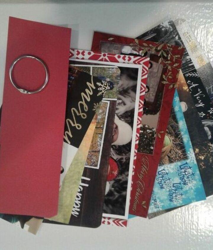 organize your christmas photo cards, organizing