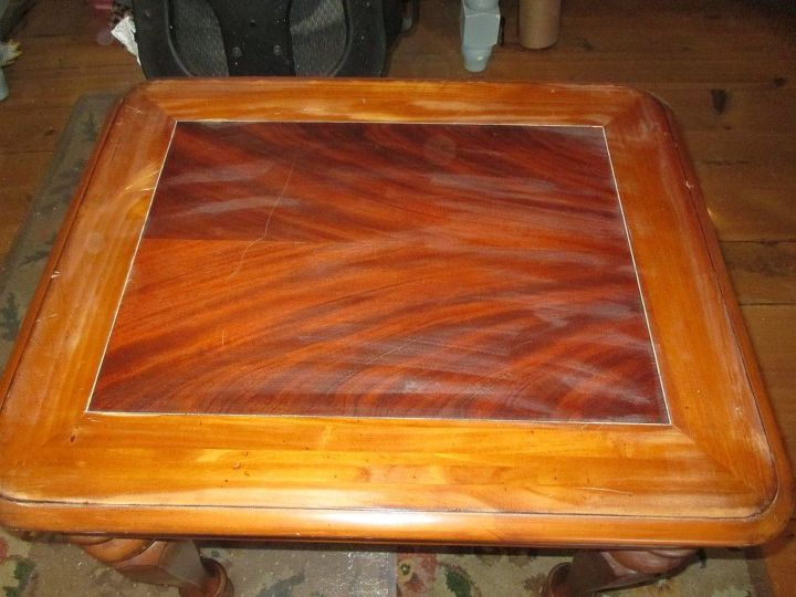 furniture makeover boring coffee table to statement piece