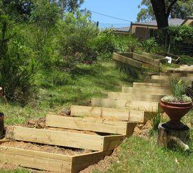 Timber Garden StairsSteps Hometalk