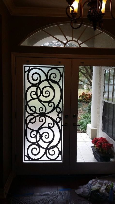 q front doors bleak to chic makeover, doors