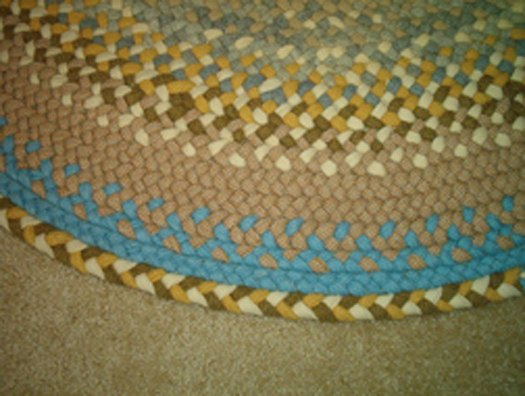 e post a call out for person to finish an in progress braided rug, reupholster