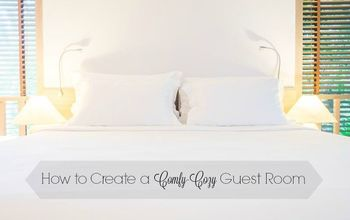 How To Create A Comfy- Cozy Guest Room