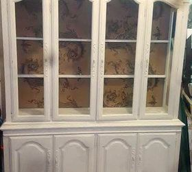 Upcycling A Vintage Hutch Into 2 New Pieces, Painted Furniture