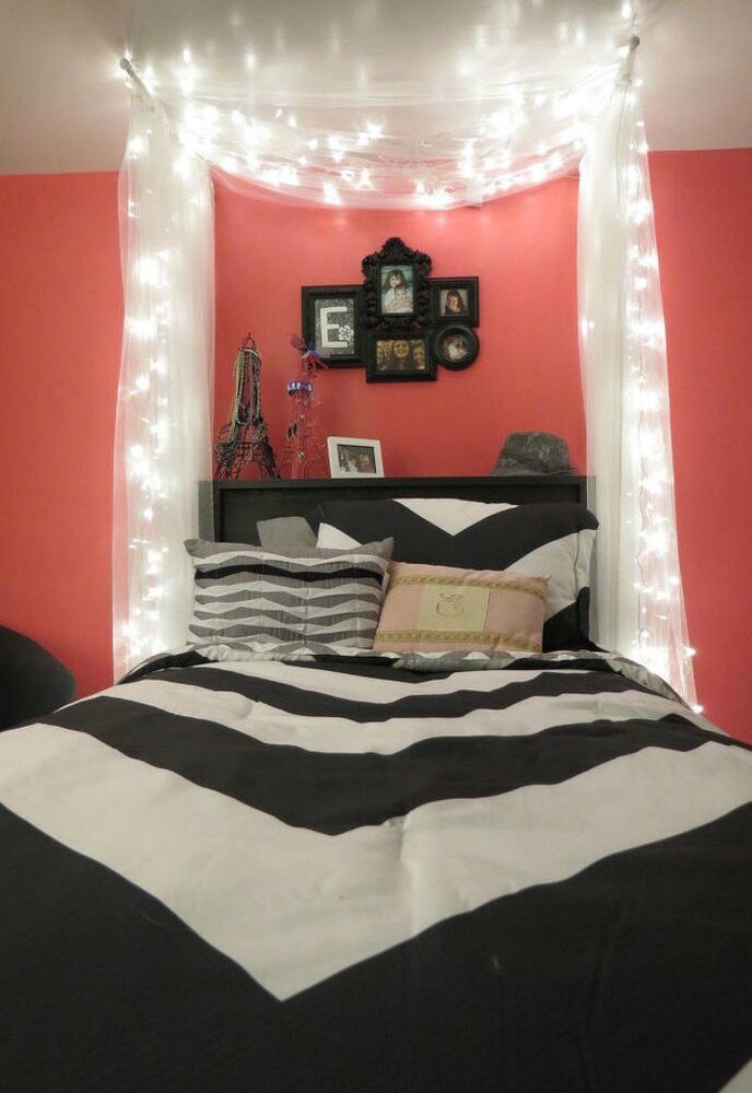Romantic Bedroom Furniture: 14 Amazing Fairy Light Ideas We're Definitely Going To