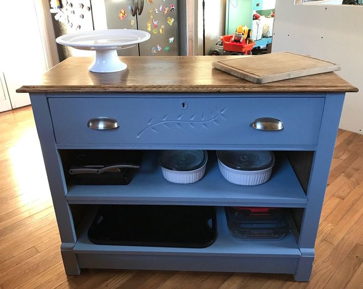 Kitchen Island Made From Old Dresser Design Painted Furniture