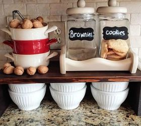 Charming Kitchen Countertop Storage Ideas Part - 4: Add A Storage Shelf On Your Counter