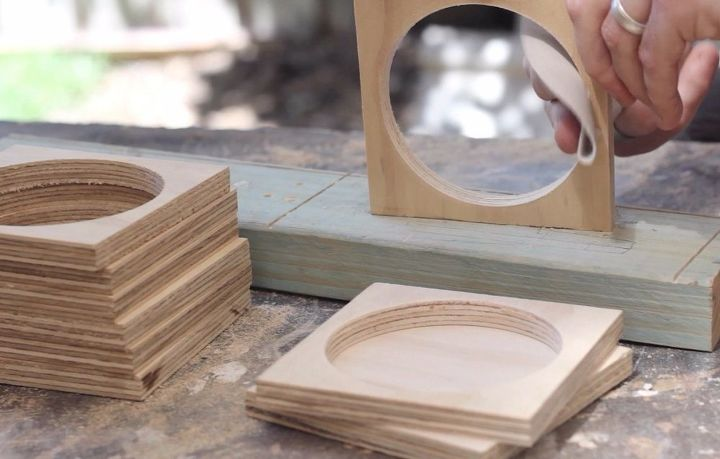 plywood flower pot, gardening, woodworking projects
