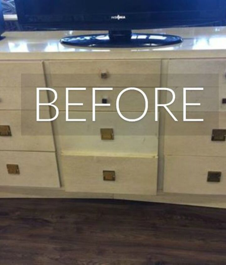 s stop everything these dresser makeovers look ah mazing, painted furniture, Before A mismatched thrift store find