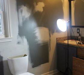 Budget Bohemian Bathroom Makeover, Bathroom Ideas