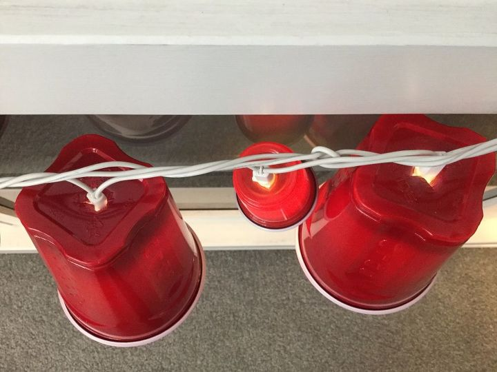 red solo cup party lights