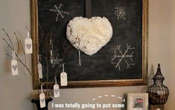 DIY Fluffy, Puffy, Coffee Filter Heart Wreath