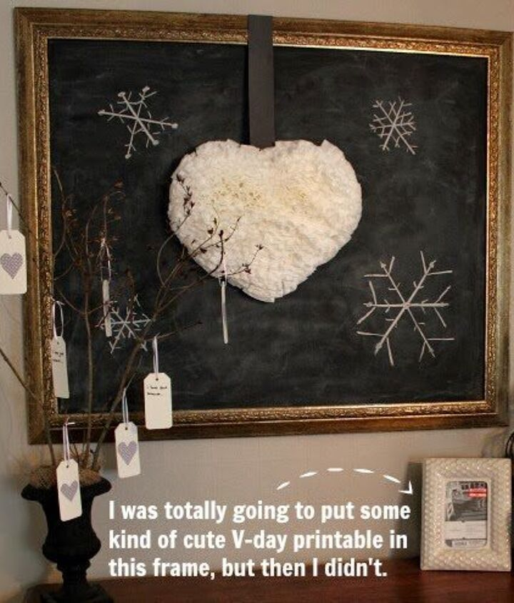 diy fluffy puffy coffee filter heart wreath, crafts, painted furniture, wreaths