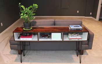 Build a Mid-Century Modern Sofa Table
