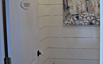 shiplap powder room