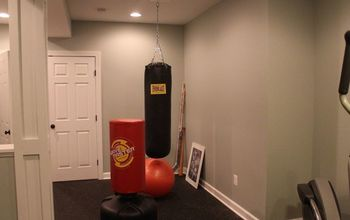 home gym redo, home decor