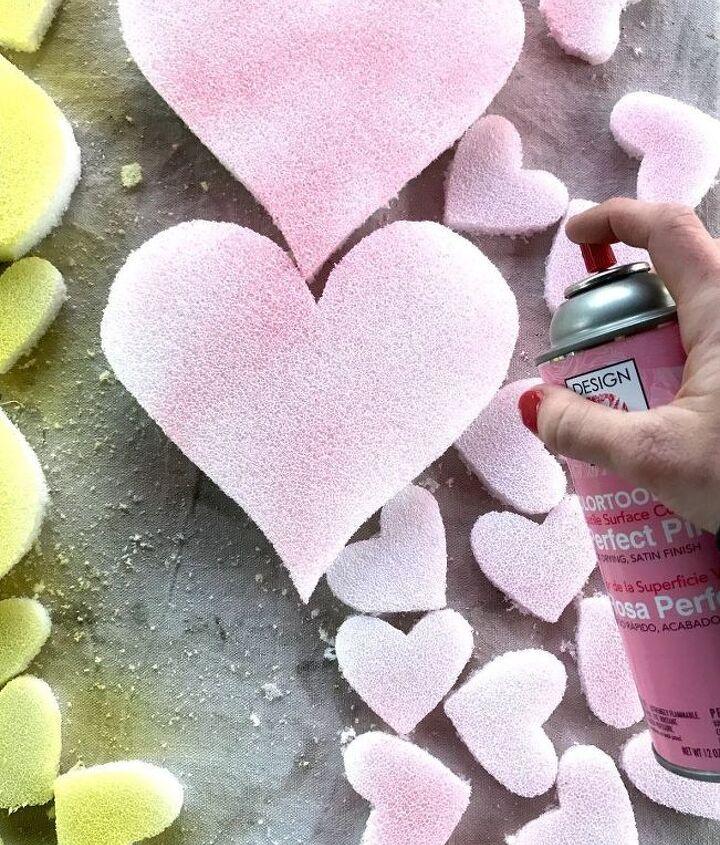 conversation heart topiaries valentine s day decor, gardening, home decor, seasonal holiday decor, valentines day ideas