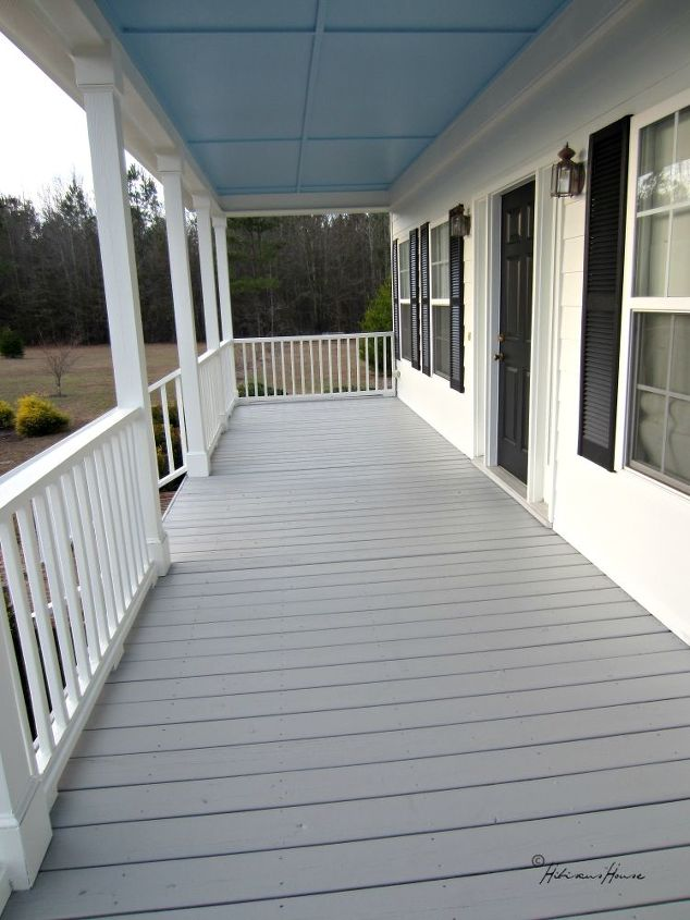 Our New Porch Floor Color Choice Hometalk
