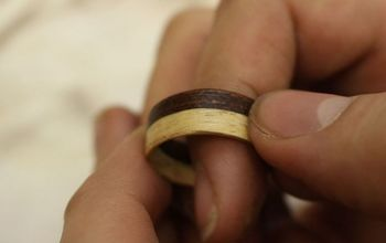 can you make a ring out of wood shavings