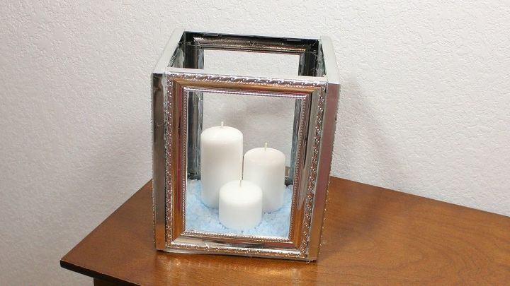 321421dadc90 Completely new Dollar Tree DIY Picture Frame Candle Lantern