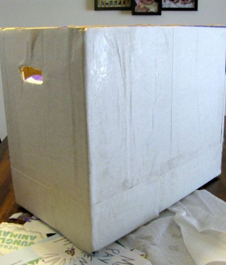 how to reuse a diaper box and an old children s books, how to