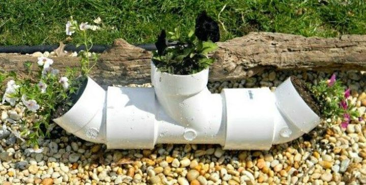 s why everyone is grabbing pvc pipes for their home decor, home decor, plumbing, They can transform into funky planters