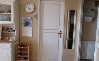 from dark doors to light doors with paper, doors