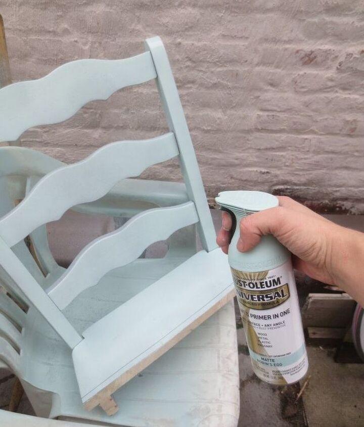 chair turned shelf, shelving ideas
