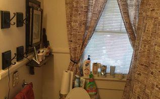 small bathroom makeover on a budget, bathroom ideas