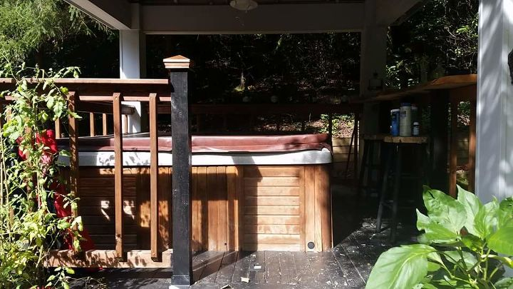 from hot tub to outdoor kitchen, bathroom ideas, kitchen design, outdoor living