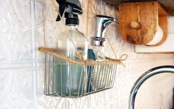 Kitchen Organizing – a Hanging Basket That Has Changed My Life!