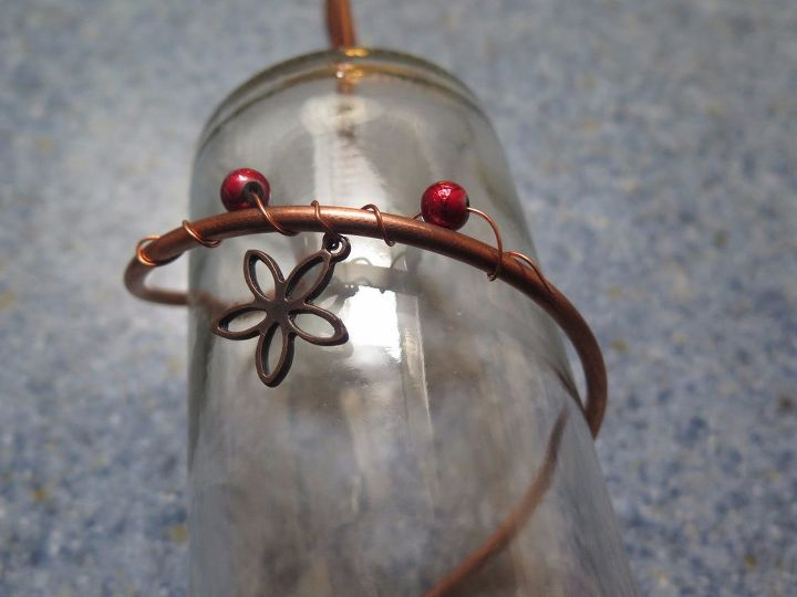 turn your wine bottle into a beautiful copper wire hummingbird feeder, pets animals, Step 9