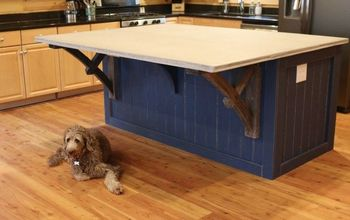 How to Make a Kitchen Island With a Concrete CounterTop, START-FINISH