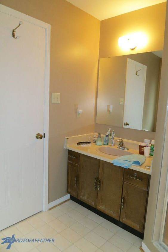 Bathroom Vanity Makeover Hometalk - How to redo my bathroom