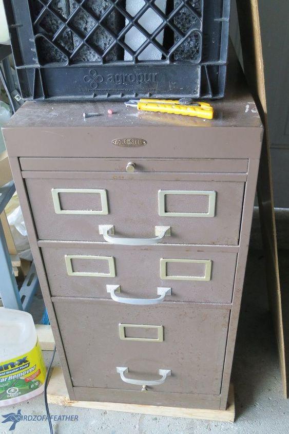 indoor gardening filing cabinet makeover, gardening, kitchen cabinets, kitchen design