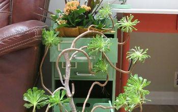 Indoor Gardening: Filing Cabinet Makeover